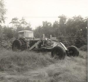 Aalt trekkerschaaf 1972